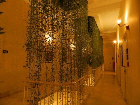 Hotel Inglaterra: Pasillo