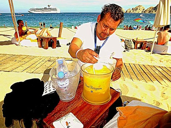 Nikki Beach: Our main man! Best pitcher available. Bang for your buck