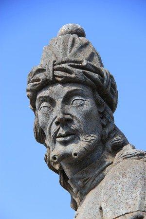 Doze Profetas De Aleijadinho : Close da face