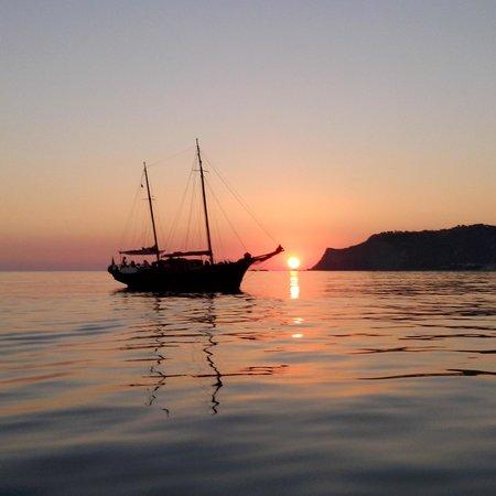 Crew Lopez: sunset