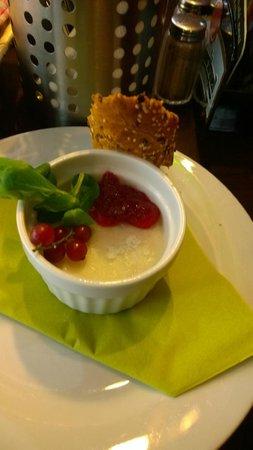 U Kroka : foie gras di anatra con marmellata di ribes rosso