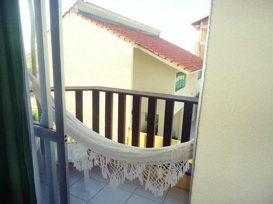 Hotel Solar Porto de Galinhas: Rede na varanda