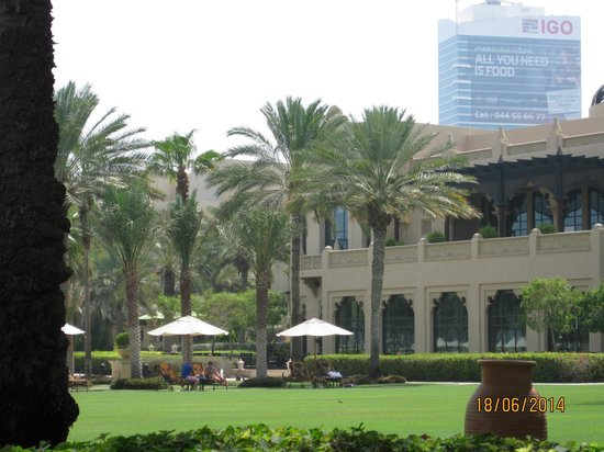 The Palace at One&Only Royal Mirage Dubai : Garten