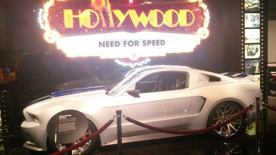 "Petersen Automotive Museum : Mustang del film ""need for speed"""