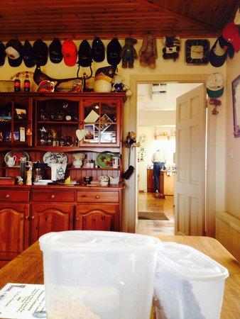 Kajon House B&B : Dinning Room