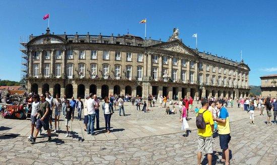 Plaza del Obradoiro: Impresionant
