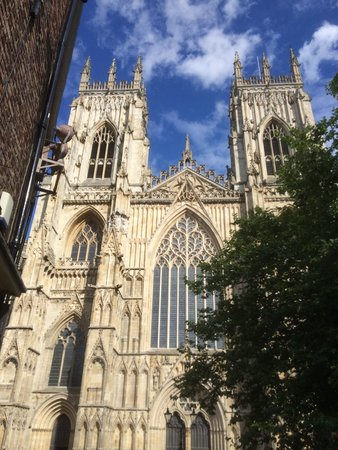 Cathédrale d'York : Very good looking cathedral