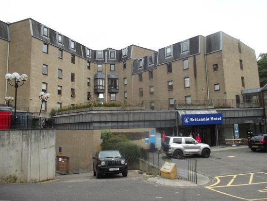 Britannia Edinburgh Hotel: Fachada del edificio