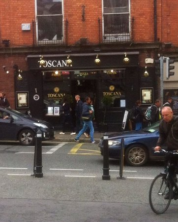 Toscana: This restaurant is located opposite Dublin Castle. It's fantastic!!