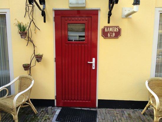 Hotel de Emauspoort: Ingresso camere