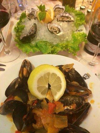 Restaurante Don Sebastiao : Мидии и устрицы