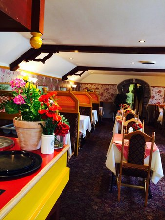 Spice Mahal: Restaurant interior..!