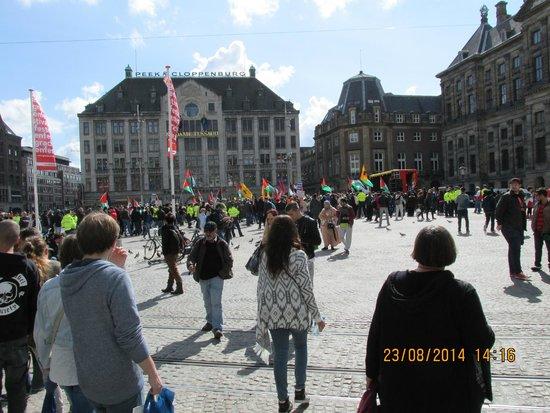 Inntel Hotels Amsterdam Centre: Dam sq