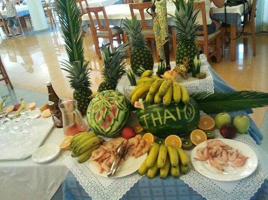 Apartahotel Maritim: ese dia nos toco comida china y thailandesa muy buena