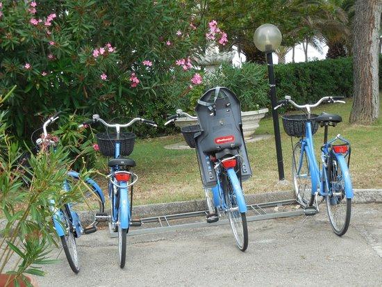 Hotel San Remo: le bici