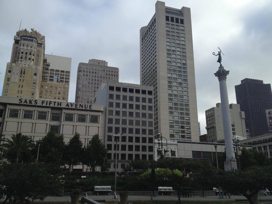 Grand Hyatt San Francisco: Hotel from union square