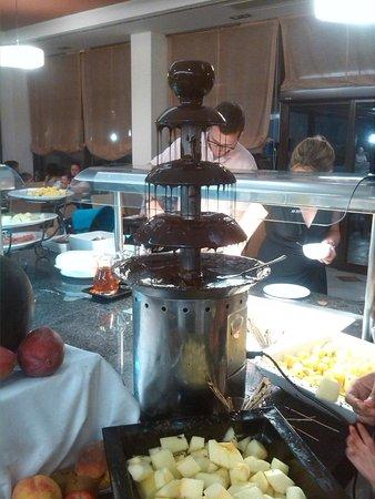Barcelo Cabo de Gata: Fuente de Chocolate