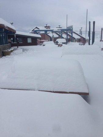 Colorado Apart Hotel: 50 cms Powder Snow