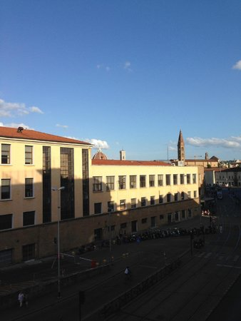 Delle Nazioni Hotel: Vista do apartamento onde se ve o Duomo
