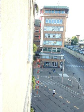 Delle Nazioni Hotel: Hotel de frente