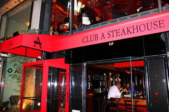 Club A Steakhouse : Outside
