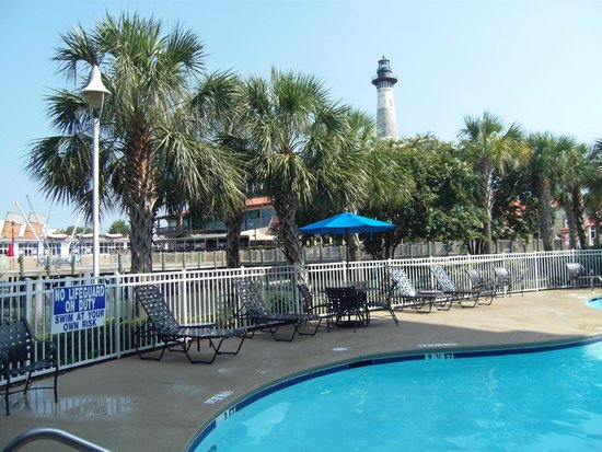Hampton Inn Myrtle Beach - Broadway At the Beach: Pool outdoor