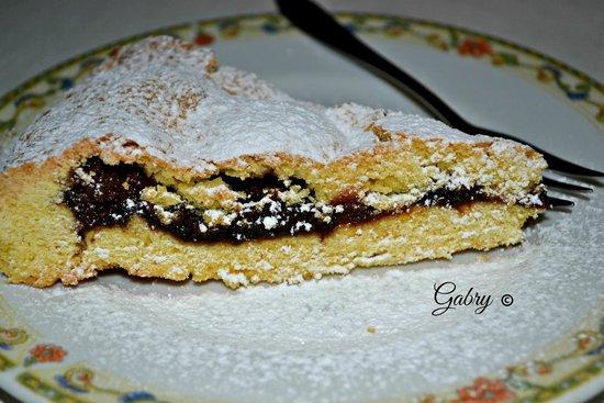 Ristorantino Rustico: Torta di amaretti e marmellata di ciliegie