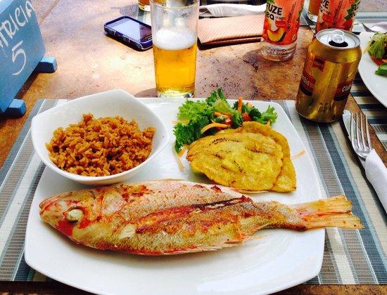 Hotel San Pedro de Majagua: Pesca del dia. Excelente comida