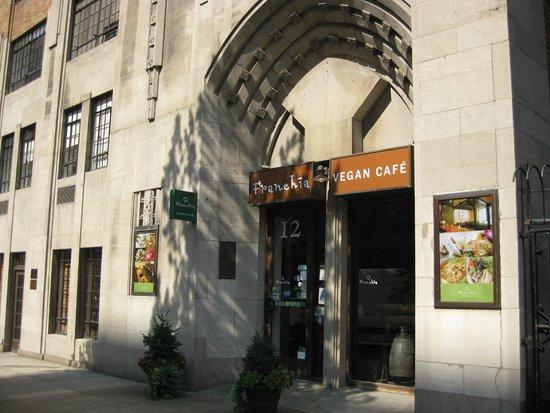 Franchia Vegan Cafe  Park Ave New York Ny