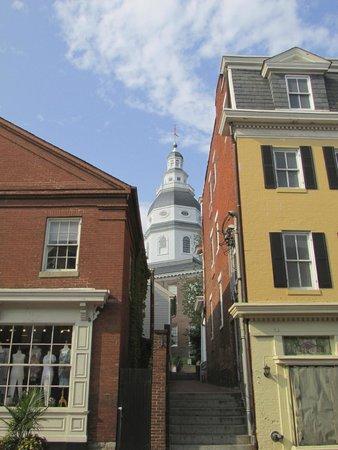 Historic Annapolis: Depuis la rue principale
