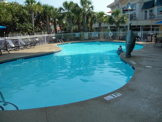 Hampton Inn Myrtle Beach - Broadway At the Beach: Out door pool