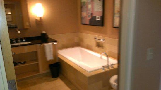 Westin St. Louis : bathtub