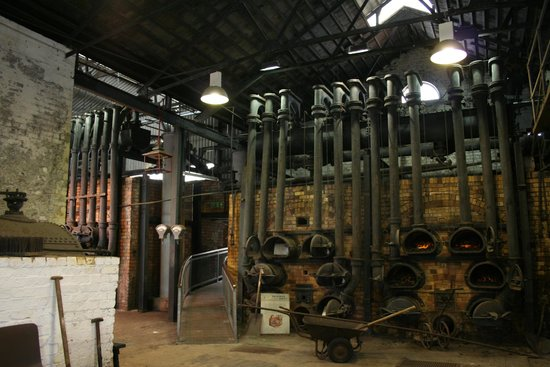 Flame!  The Gasworks Museum of Ireland: Not a pipe organ!
