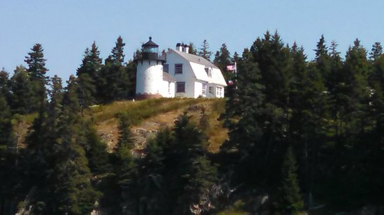 Bar Harbor Whale Watch Company: Baker Island Light House decomissioned in 1981