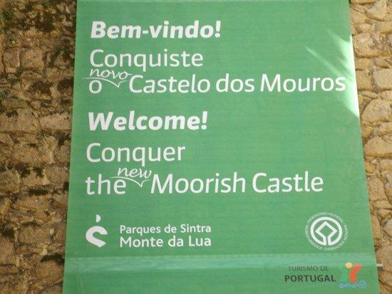 Castle of the Moors : Entrada