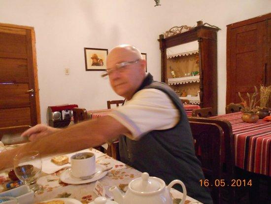 Posada Rural El Capricho: Desayunando