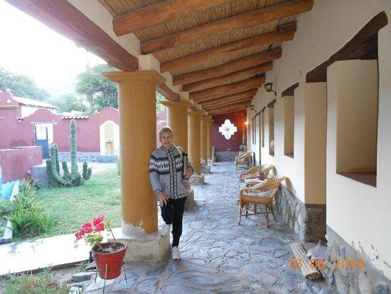 Posada Rural El Capricho: Vista de la gaaleria