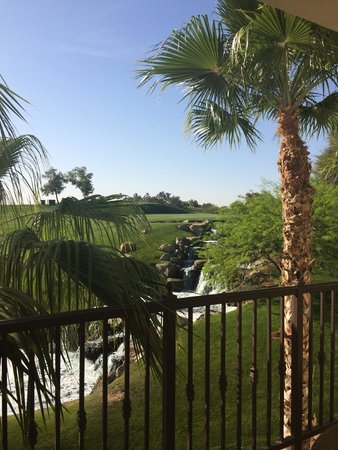 Arizona Grand Resort & Spa: View from balcony of condo-beautiful