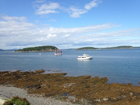 Bar Harbor Inn: room with a view