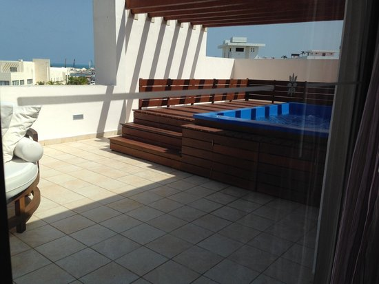 Excellence Playa Mujeres: Our private pool in our room!