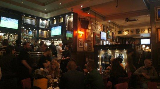 Hard Rock Cafe London : Dia de jogo da Argentina x Alemanha
