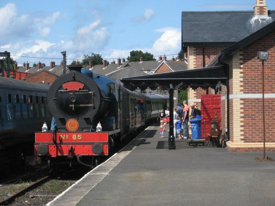 Steam Train Rides: All aboard!