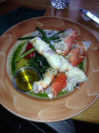 Fiddle River Restaurant : Crab
