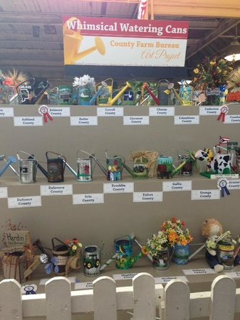 The Ohio Expo Center & State Fair : Watering can contest
