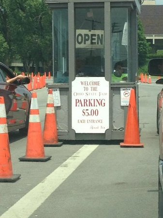 The Ohio Expo Center & State Fair : Parking sign