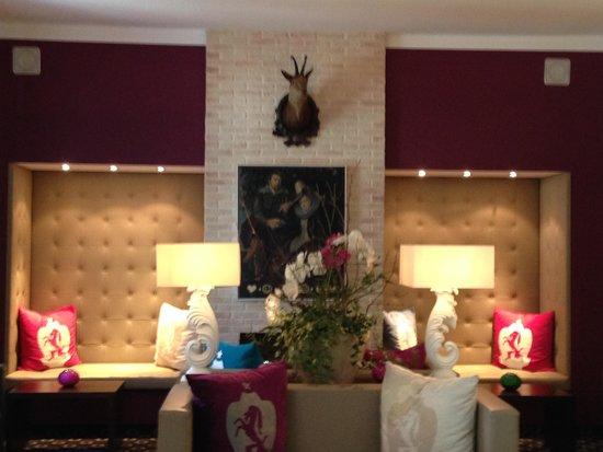 Hotel Villa Carlton: Lobby