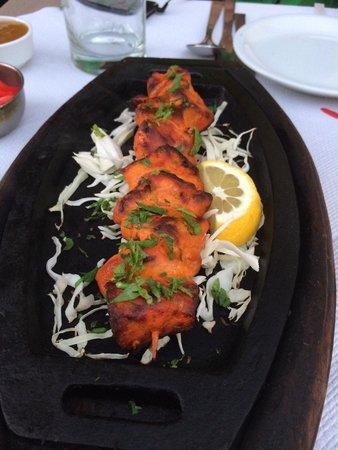 Sapana Indian Cuisine: Chicken tikka