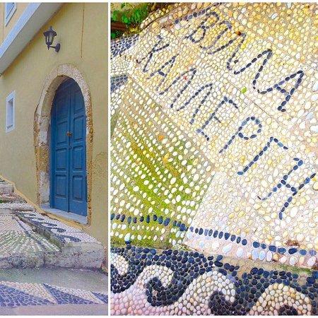 Villa Kallergi: Villa Athena Kallergi - Decorated private alley