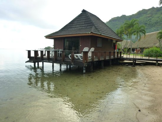 "Club Bali Hai Moorea Hotel : Our 'Over the Water"" unit"