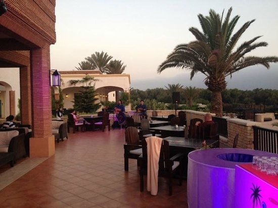 Robinson Club Agadir : One of the patios